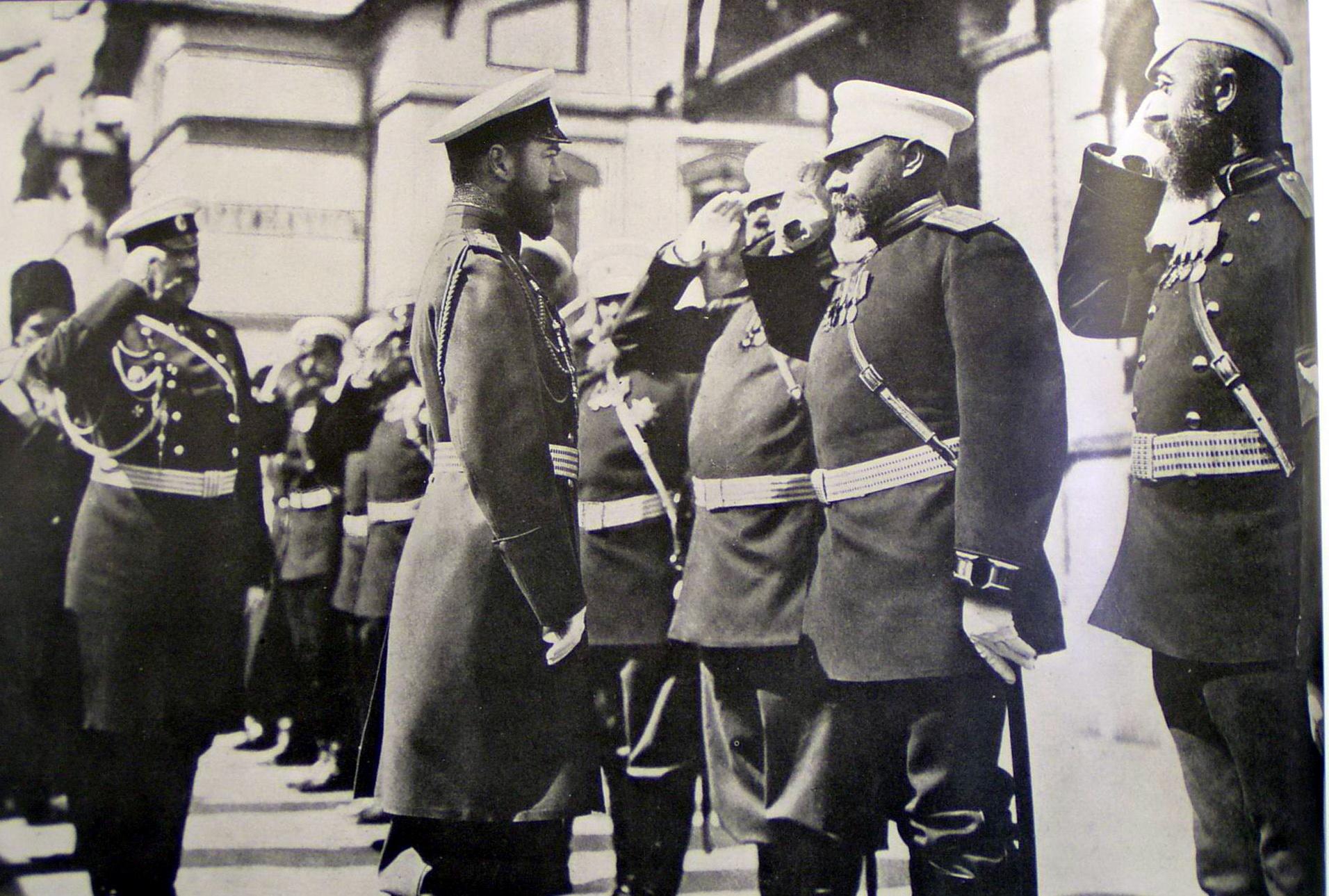 Русско-японская война.