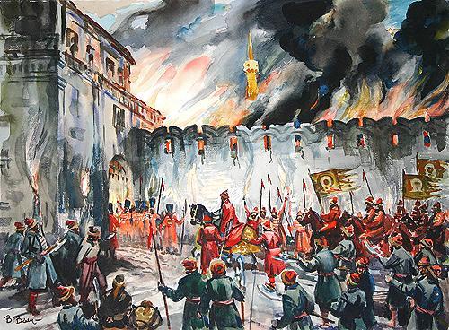 ИОАНН IV — ПЕРВЫЙ РУССКИЙ ЦАРЬ