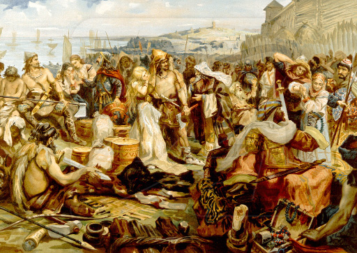 Возникновение государственности у восточных славян