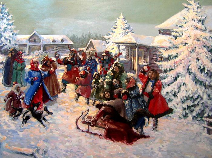 Новый год и каляда