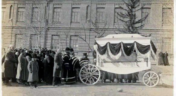 Хабаровские похороны.