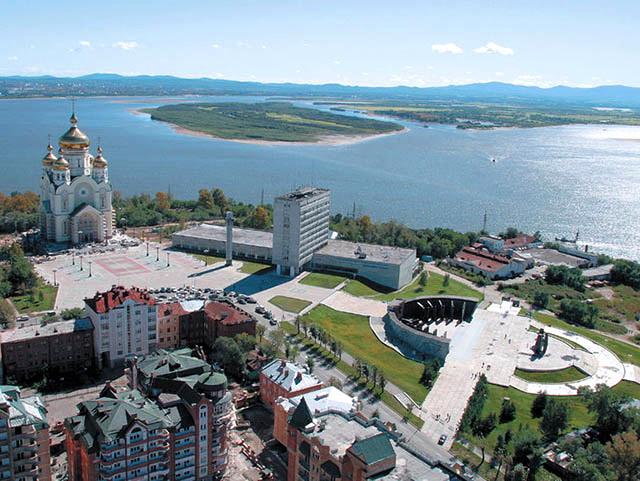 Хабаровск с квадрокоптера