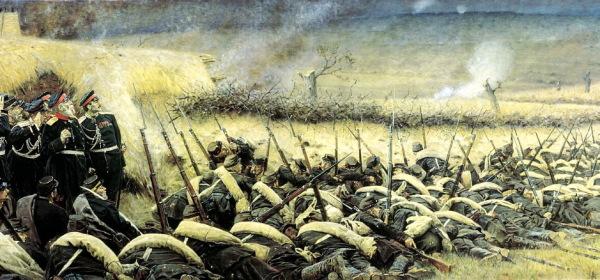 Дмитриев-Оренбургский Николай Дмитриевич. Въезд Александра II в Плоешти 15 июня 1877 года